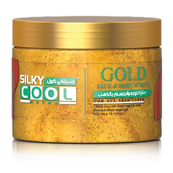 Face & Body Scrub Gel Gold 300ml 1
